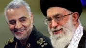 پیام رهبر معظم انقلاب در مورد شهادت سردار سلیمانی